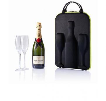 Кейс для переноски шампанского Flute ― Интернет-магазин оригинальных подарков Idea-Present, Екатеринбург